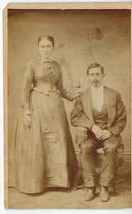 John Homer & Mary Esther Wedding photo